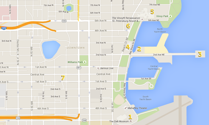 st pete map