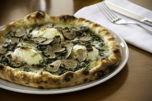 Pizza OCCHIO DI BUE ALLA FIORENTINA