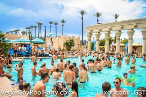 vegas pool party
