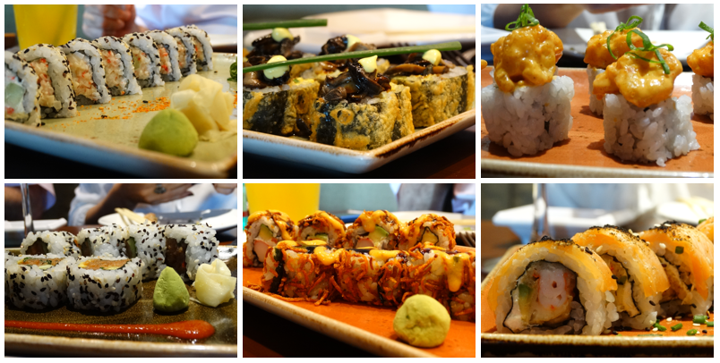 comida japonesa na barra pf changs shushis