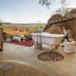 banheiro Madikwe Hills Private Game Lodge