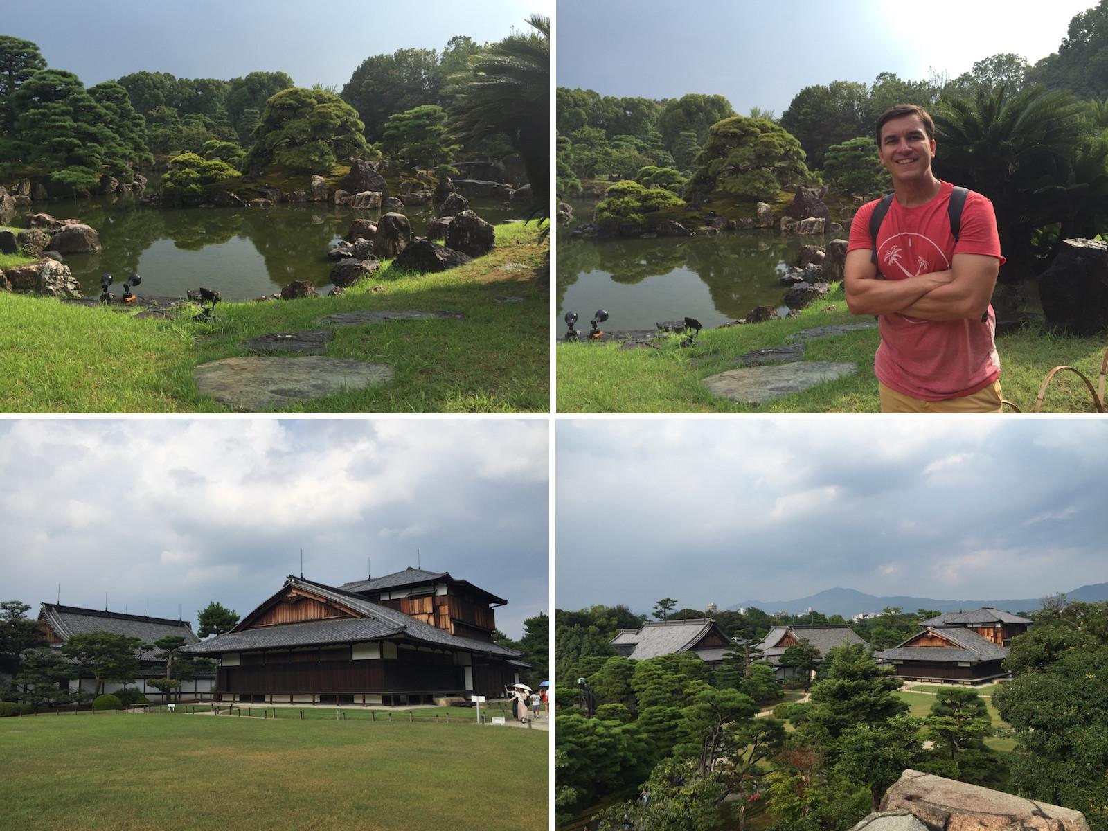 ninomaru garden e honmaru palace