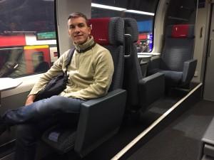 trem primeira classe suica