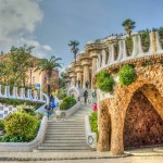 Gaudi Architecture Spain Barcelona Guell Park