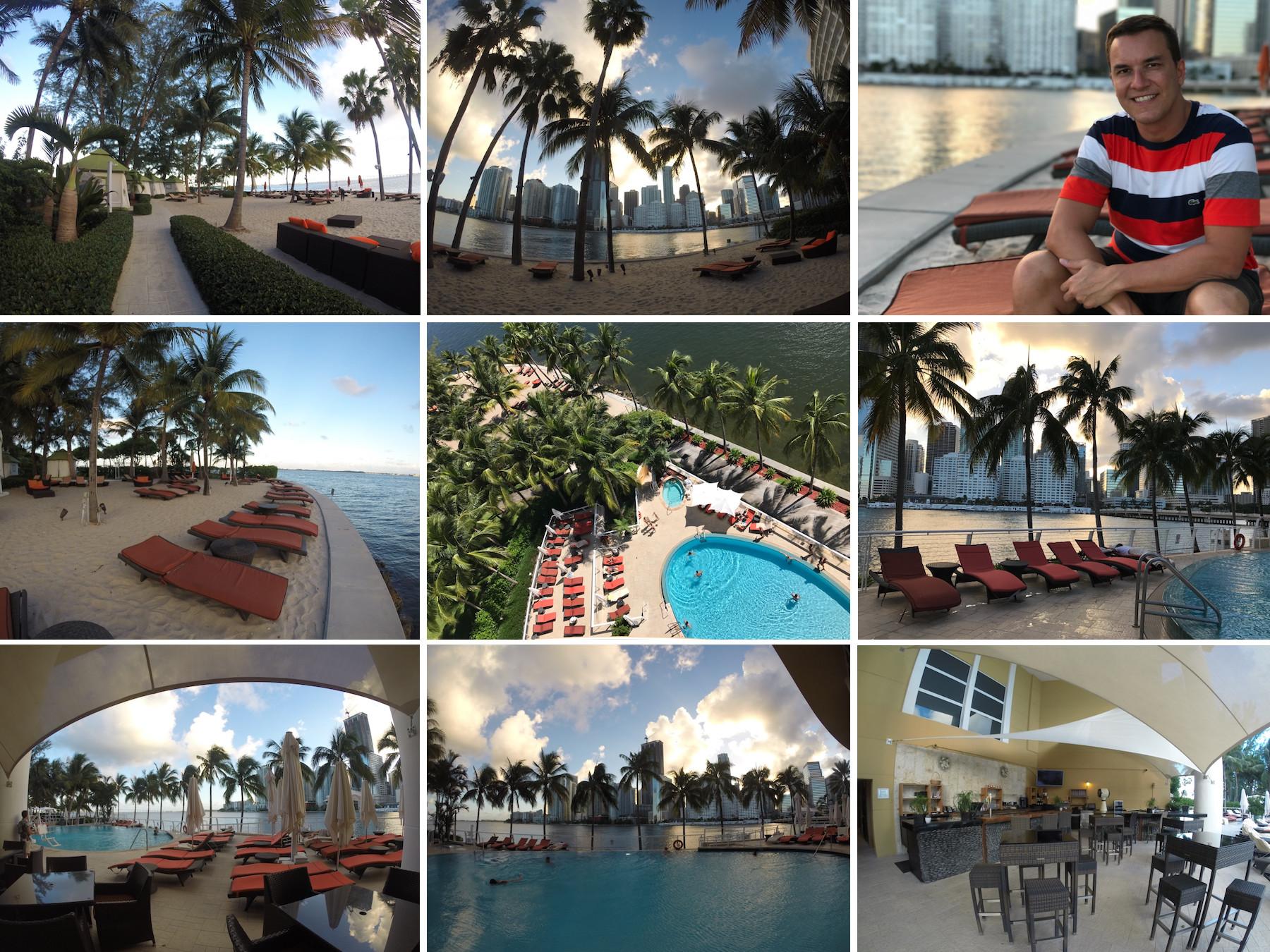 MO Miami praia piscina
