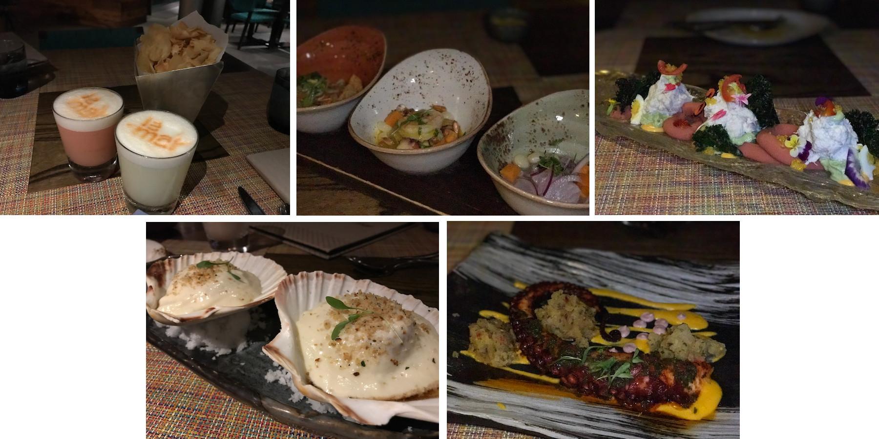 la mar pratos jantar