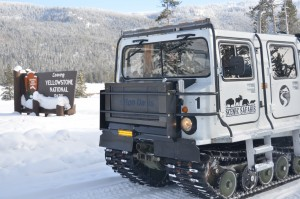 Scenic Safari Another type of Snowcoach Yellowstone Park