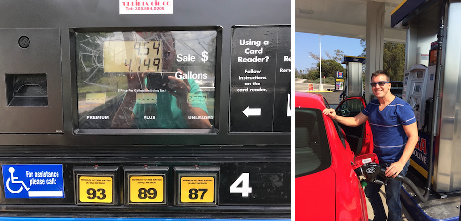 gasolina eua