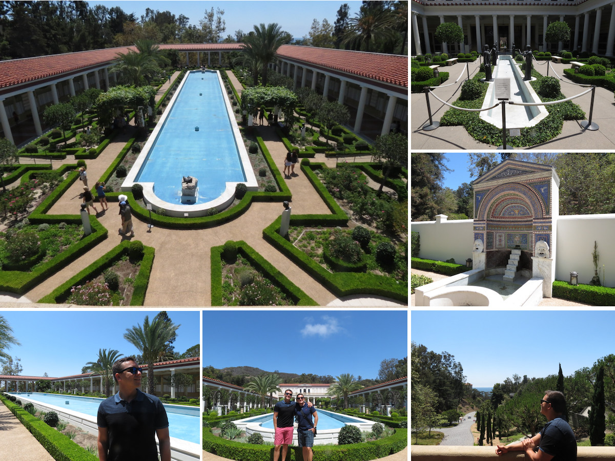 getty villa garden