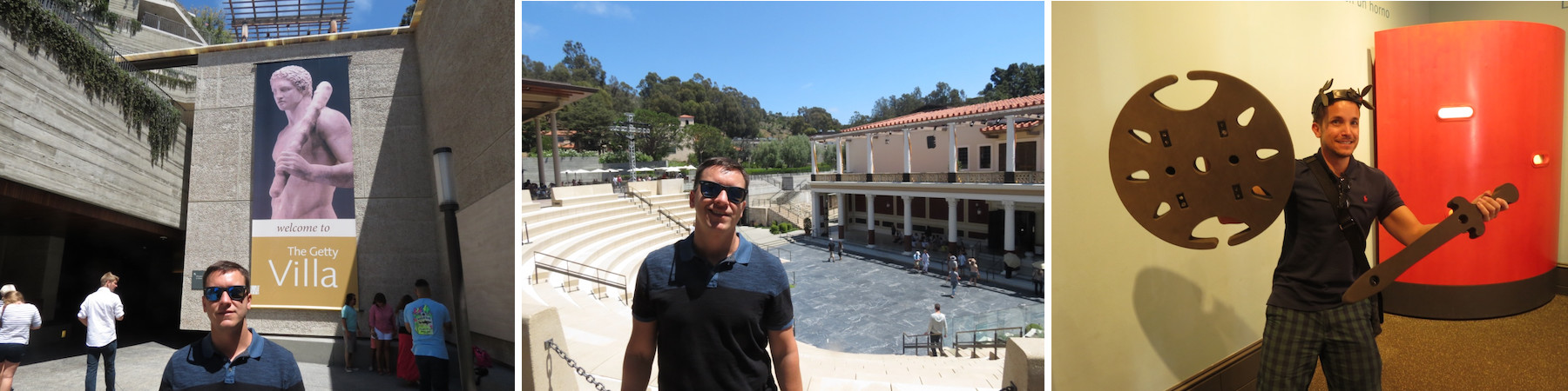 getty villa museu e anfiteatro
