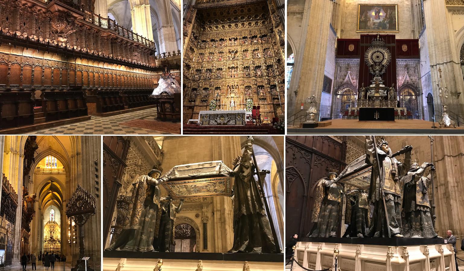 catedral de sevilha interior
