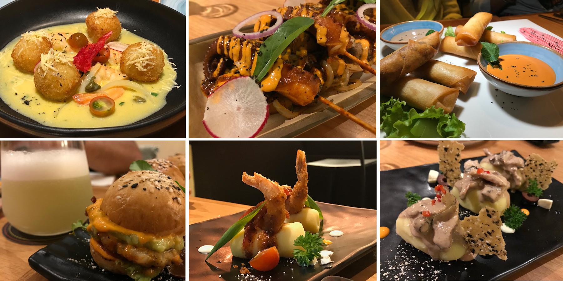 lima pratos compartilhar