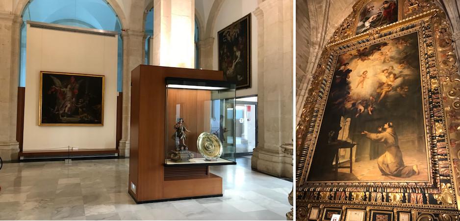 obras de arte catedral de sevilha