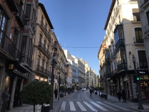 ruas de Granada