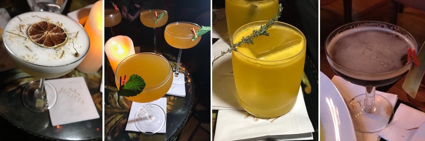 julieta bar drinks