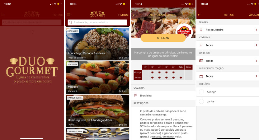 duo gourmet aplicativo