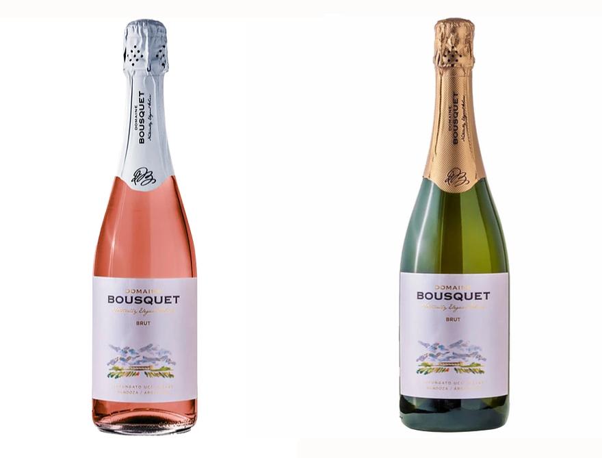 Domaine Bousquet- Rosé Brut e Branco Brut- Foto Divulgacao