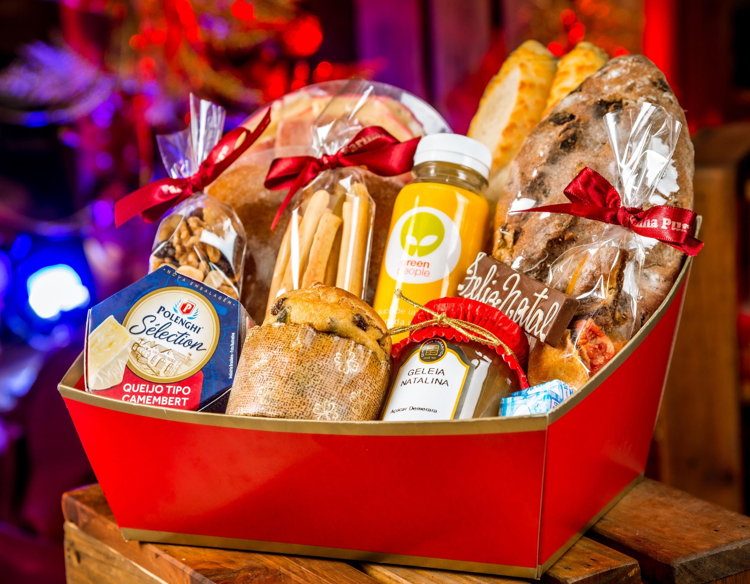 lista com sugestões de presentes gourmet