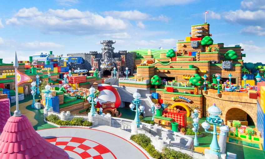 Universal Studios Japão inaugura área temática em homenagem à Nintendo