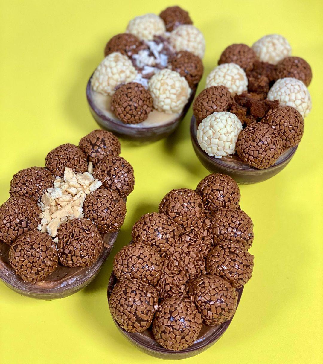 Roteiro de ovos de Páscoa artesanais para encomendar de pequenos empreendedores
